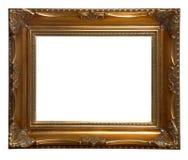 античная рамка деревянная Стоковые Изображения RF
