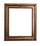античная рамка деревянная Стоковая Фотография
