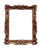 античная рамка деревянная Стоковая Фотография RF