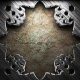 Античная рамка орнамента Стоковое Фото