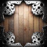 Античная рамка орнамента Стоковое фото RF