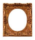 Античная рамка фото изолированная на белой предпосылке Стоковая Фотография