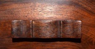 античная ручка ящика Стоковое фото RF