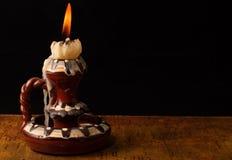 античная свечка Стоковые Фотографии RF