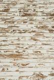 античная старая краска слезая белую древесину Стоковые Фотографии RF