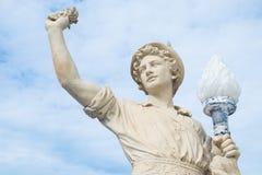 Античная статуя человека Стоковые Изображения