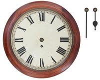 античная стена часов Стоковое Изображение