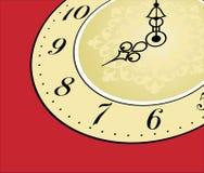 античная сторона часов Стоковые Фото