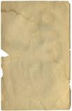 античная страница книги Стоковые Фотографии RF