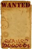античная страница хотела Стоковая Фотография RF