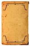 античная страница Стоковое фото RF