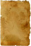 античная страница Стоковая Фотография
