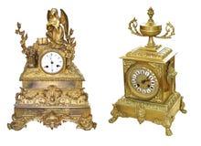 античная таблица часов Стоковое фото RF