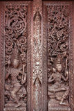 Античная тайская настенная роспись Стоковые Изображения RF