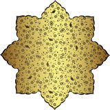 античная тахта золота конструкции иллюстрация штока