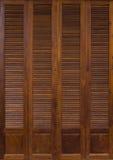 Античная текстура двери Стоковое Изображение