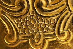 античная текстура металла Стоковые Фотографии RF
