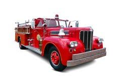 Античная тележка года сбора винограда пожарной машины Pumper сентенции Стоковая Фотография