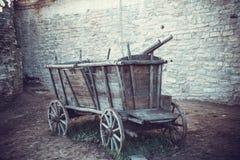 античная тележка Стоковая Фотография