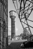 Античная угольная шахта Стоковое Фото