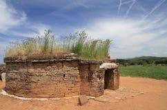 античная усыпальница стоковая фотография