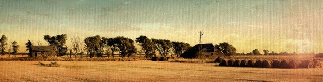 античная ферма Стоковые Фотографии RF