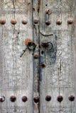 античная дверь Стоковые Изображения RF