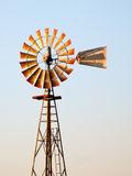 античная midwestern ветрянка стоковое фото rf