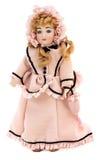 античное викторианец куклы Стоковая Фотография