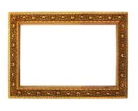 античное золотистое деревянное Стоковые Фотографии RF
