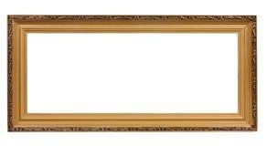 античное золото рамки старое Стоковая Фотография