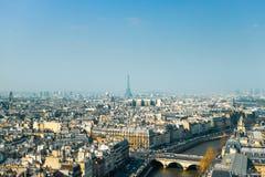 Античное здание города в Париже стоковое фото rf