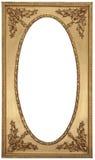 античное изображение золота рамки Стоковая Фотография