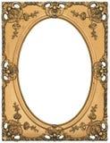 античное изображение золота рамки стоковые фотографии rf
