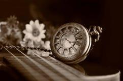 античное карманн часов Стоковые Изображения RF