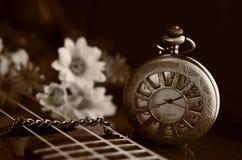 античное карманн часов Стоковые Фотографии RF