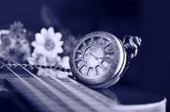 античное карманн часов Стоковая Фотография