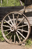 античное колесо фуры Стоковая Фотография RF