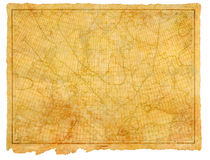 античное море диаграммы 1910 Стоковое Фото