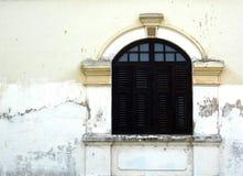 античное окно стоковое изображение rf
