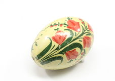 античное пасхальное яйцо стоковое изображение rf