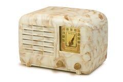 Античное радио 06 бакелита Стоковые Изображения RF