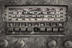 Античное радио Стоковое Фото