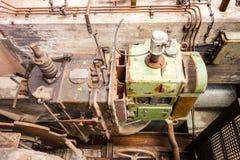 Античное ржавое машинное оборудование Стоковая Фотография