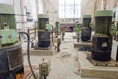Античное ржавое машинное оборудование Стоковое Изображение