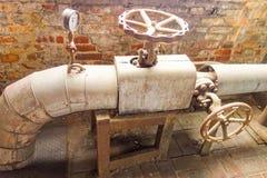 Античное ржавое машинное оборудование Стоковое фото RF
