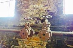 Античное ржавое машинное оборудование Стоковые Изображения