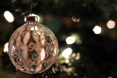 античное стекло рождества шарика Стоковое Изображение RF