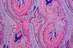 Античное флористическое с красочной картиной цветков полезной для текстур Стоковое фото RF