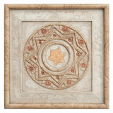 античное deco кирпича Стоковые Фото
